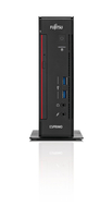 Fujitsu ESPRIMO Q556/2 3.4GHz i3-7100T 2L Größe PC Schwarz, Rot Mini-PC (Schwarz, Rot)