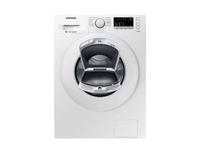 Samsung WW80K4420YW/EG Freistehend Frontlader 8kg 1400RPM A+++ Weiß Waschmaschine (Weiß)