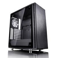 Fractal Design Define C TG Midi-Tower Schwarz Computer-Gehäuse (Schwarz)