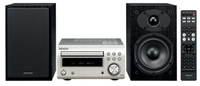 Denon D-M41 Home audio mini system 60W Schwarz, Silber (Schwarz, Silber)