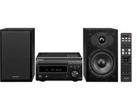 Denon D-M41 Home audio midi system 60W Schwarz, Silber (Schwarz, Silber)