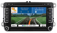 ESX VN720 VW-U1 Fixed 7Zoll LCD Touchscreen Schwarz Navigationssystem (Schwarz)