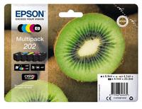 Epson 202 4.1ml 6.9ml Schwarz, Cyan, Magenta, Foto schwarz, Gelb Tintenpatrone