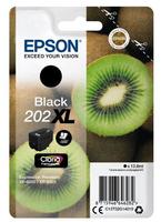 Epson 202XL 13.8ml 550Seiten Schwarz Tintenpatrone