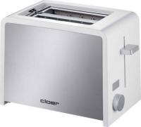 Cloer Toaster 3211 (Silber, Weiß)