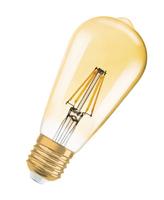LEDVANCE Vintage 1906 7W E27 A+ warmweiß LED-Lampe (Gold)