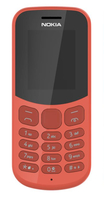 Nokia 130 (2017) 1.8Zoll Rot (Rot)