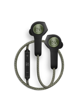 Bang & Olufsen Beoplay H5 im Ohr Binaural Kabellos Schwarz, Grün Mobiles Headset (Schwarz, Grün)