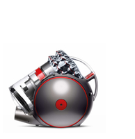 Dyson Cinetic Big Ball Absolute 2 Zylinder-Vakuum 0.8l 700W A Rot (Nickel, Rot)