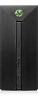 HP Pavilion Power Desktop - 580-100ng (Schwarz)
