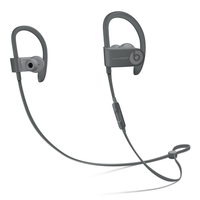 Beats by Dr. Dre Powerbeats3 Ohrbügel, im Ohr Binaural Kabellos Grau Mobiles Headset (Grau)