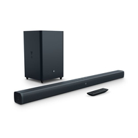 JBL Bar 2.1 Verkabelt & Kabellos 2.1Kanäle 300W Schwarz Soundbar-Lautsprecher (Schwarz)