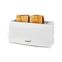 Korona 21043 4Scheibe(n) 1200W Weiß Toaster (Weiß)