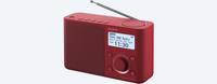 Sony XDR-S61D Persönlich Rot Radio (Rot)