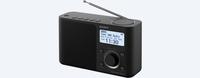 Sony XDR-S61D Persönlich Schwarz Radio (Schwarz)