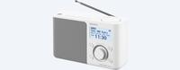Sony XDR-S61D Persönlich Weiß Radio (Weiß)