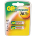 GP Batteries NiMH rechargeable batteries AAA 1000 mAh Accu 2-pack
