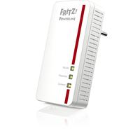AVM FRITZ! Powerline 1260E 1200Mbit/s Eingebauter Ethernet-Anschluss WLAN Weiß 1Stück(e) PowerLine Netzwerkadapter (Weiß)