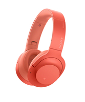 Sony h.ear on 2 Wireless NC Rot ohrumschließend Kopfband Kopfhörer (Rot)