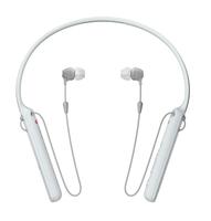Sony WI-C400 im Ohr, Nackenband Binaural Kabellos Weiß Mobiles Headset (Weiß)