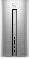 HP Pavilion Desktop PC – 570-p578ng (Silber, Schwarz)