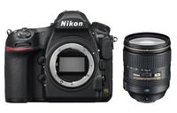 Nikon D850 + AF-S 24-120 mm 1:4G ED VR SLR-Kamera-Set 45.7MP CMOS Schwarz (Schwarz)