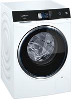 Siemens iQ500 WM14U840EU Freistehend Frontlader 10kg 1400RPM A+++ Schwarz, Weiß Waschmaschine (Schwarz, Weiß)