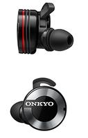ONKYO W800BT im Ohr Binaural Kabellos Schwarz, Rot Mobiles Headset (Schwarz, Rot)