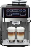 Bosch TES60553DE Freistehend Vollautomatisch Espressomaschine 1.7l Schwarz, Titan Kaffeemaschine (Schwarz, Titan)