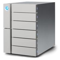 LaCie 6big Thunderbolt 3 12000GB Desktop Grau Disk-Array (Grau)
