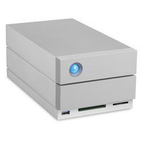 LaCie 2big Dock Thunderbolt 3 8000GB Desktop Grau Disk-Array (Grau)