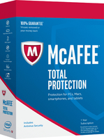 McAfee Total Protection 2018, 1 PC 1Benutzer