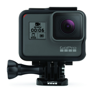 GoPro HERO6 Black 12MP 4K Ultra HD WLAN Actionsport-Kamera (Schwarz)