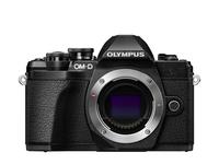 Olympus OM-D E-M10 Mark III MILC Body 16.1MP 4/3Zoll Live MOS 4608 x 3456Pixel Schwarz (Schwarz)