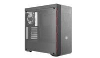 Cooler Master MasterBox MB600L Midi-Tower Schwarz, Rot Computer-Gehäuse (Schwarz, Rot)