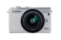 Canon EOS M100 Kompaktkamera 24.2MP CMOS 6000 x 4000Pixel Weiß (Weiß)