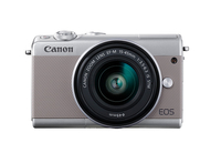 Canon EOS M100 Kompaktkamera 24.2MP CMOS 6000 x 4000Pixel Grau (Grau)