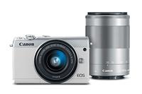 Canon EOS M100 SLR-Kamera-Set 24.2MP CMOS 6000 x 4000Pixel Weiß (Weiß)