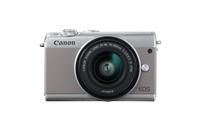 Canon EOS M100 SLR-Kamera-Set 24.2MP CMOS 6000 x 4000Pixel Grau (Grau)