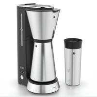 WMF KITCHENminis 04.1226.0011 Kaffeemaschine Halbautomatisch Filterkaffeemaschine 0,625 l (Schwarz, Chrom)