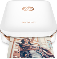 HP Sprocket ZINK (Zero ink) 313 x 400DPI Fotodrucker (Weiß)