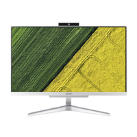 Acer Aspire C24-860 2.7GHz 23.8Zoll 1920 x 1080Pixel Silber All-in-One-PC (Silber)