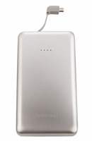 Intenso S10000 Lithium Polymer (LiPo) 10000mAh Silber Akkuladegerät (Silber)