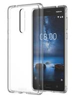 Nokia Hybrid Crystal Case CC-701 Abdeckung Transparent (Transparent)