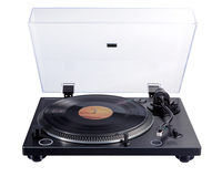 Thomson TT600BT Direct drive audio turntable Schwarz Plattenspieler (Aluminium, Schwarz)