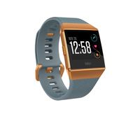 Fitbit Ionic LCD GPS Blau, Orange Smartwatch (Blau, Orange, Blau, Orange)