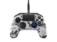 NACON PS4OFPADREVCAMOGREY Gamepad PlayStation 4 Grau Spiele-Controller (Camouflage, Grau)
