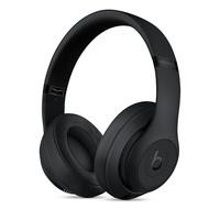 Beats by Dr. Dre Beats Studio3 Kopfband Binaural Verkabelt/Kabellos Schwarz Mobiles Headset (Schwarz)