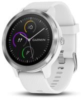 Garmin vívoactive 3 Touchscreen Bluetooth Weiß Sportuhr (Weiß)