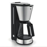 WMF 0412270011 Freistehend Filterkaffeemaschine 0.6l 5Tassen Schwarz, Edelstahl Kaffeemaschine (Schwarz, Edelstahl)